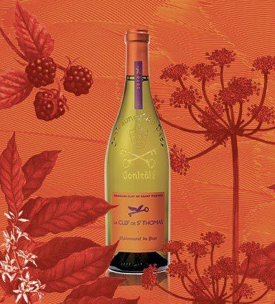 圣托马之匙酒庄 - 白葡萄酒