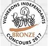 Médaille de Bronze – Clos Victoire – Rouge – 2013