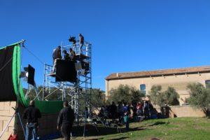 Tournage de la série Kaïn au Château Calissanne
