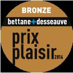 Médaille de Bronze – Château Calissanne – Blanc – Millésime 2015