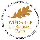Médaille de Bronze – Clos Victoire – Blanc – 2016