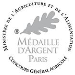 Médaille d'Argent – Terres de Provence – Blanc – 2015