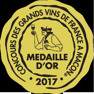 Médaille d'Or – La Clef de St-Thomas – Blanc – 2016