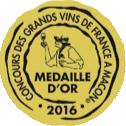 Médaille d'Or – Terres de Provence – Blanc – Millésime 2015