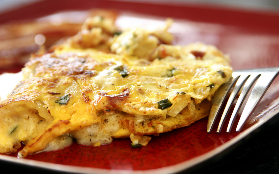 "Cold Omelette or ""Provence on a Stick"""