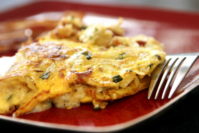 Omelette froide
