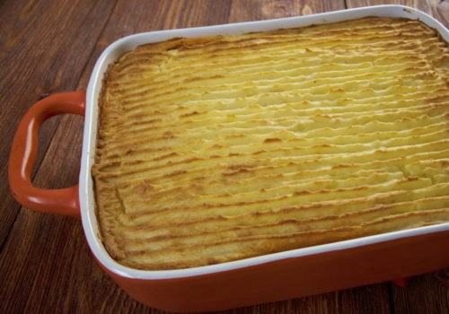 Duck shepherd's pie