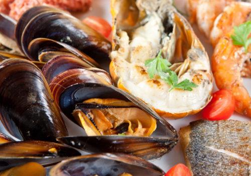 Gratin de poissons aux fruits de mer