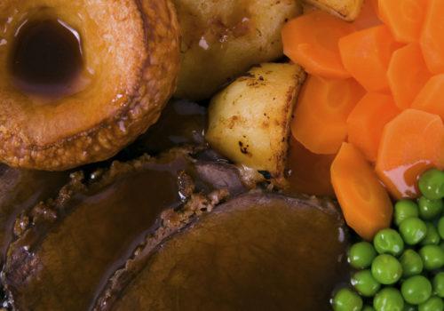 Roast beef en croute