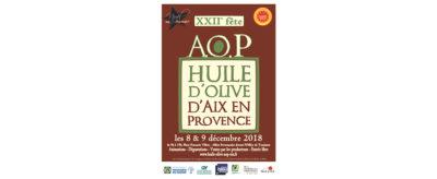 22ème Fête de l'huile d'olive d'Aix en Provence A.O.P.