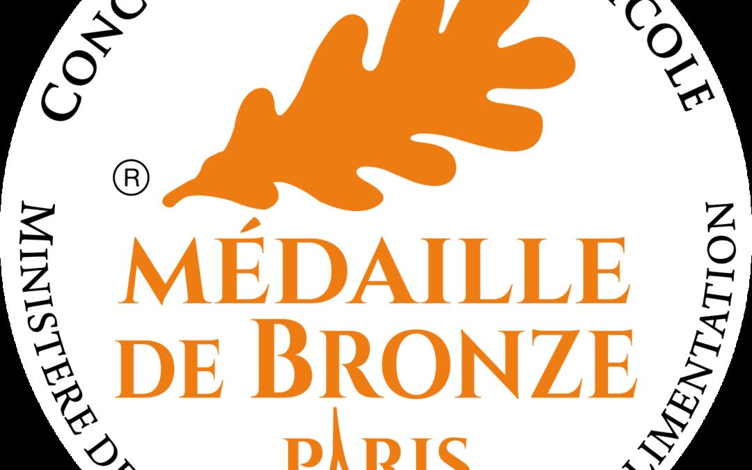 Médaille de Bronze – Sainte Modeste – 2020