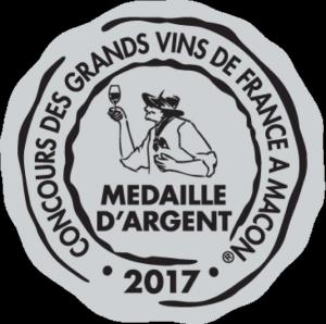 Médaille d'Argent– Clos Victoire – Rouge – Millésime 2014