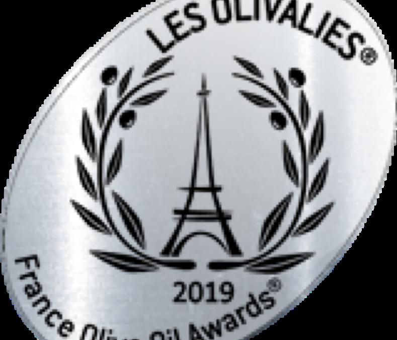 Médaille d'Argent – Huile d'olive Sainte-Modeste – Millésime 2018