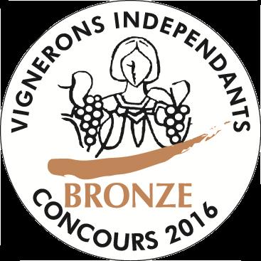 Médaille de Bronze – Clos Victoire – Blanc – Millésime 2015
