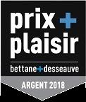 Médaille d'Argent « Prix plaisir Bettane & Desseauve » – Château Calissanne – Rouge – Millésime 2016