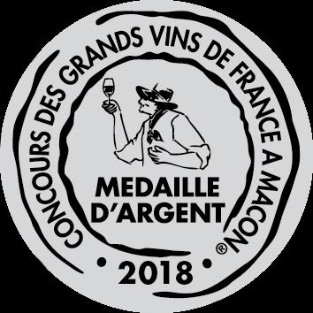 Médaille d'Argent – Château Calissanne – Rouge – Millésime 2016
