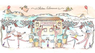 Fête des rosés au Château Calissanne