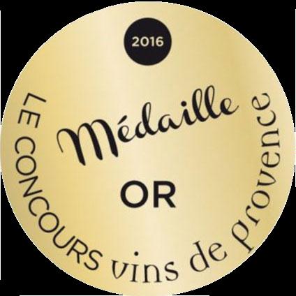 Médaille d'Or – Château Calissanne – Blanc – Millésime 2015