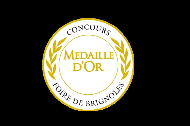 Médaille d'Or – Huile d'olive Sainte-Modeste – Millésime 2015