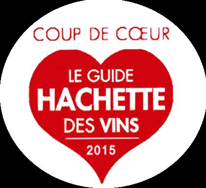 Coup de cœur « Guide Hachette des vins 2015 » – Rocher Rouge – Millésime 2012