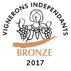 Médaille de Bronze – Clos Victoire – Rouge – Millésime 2014