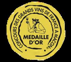 Médaille d'Or – Clef de St Thomas – Blanc – Millésime 2017