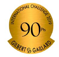 Médaille 90 points – Clos Victoire Rouge – Millésime 2015