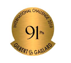 Médaille 91 points – Clos Victoire Rosé – Millésime 2018
