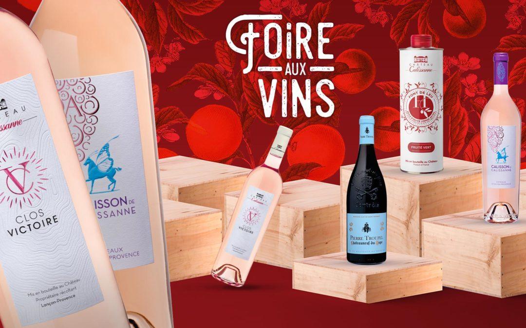 La foire aux vins du Château Calissanne