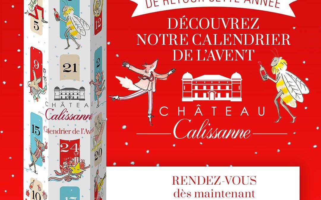 Le calendrier de l'Avent Château Calissanne est de retour !