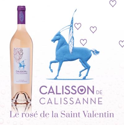 Le rosé de la Saint-Valentin