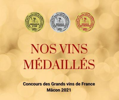 Concours des grands vins de France 2021