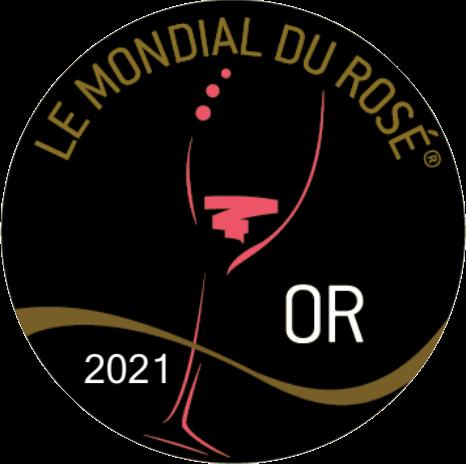 Médaille d'Or – Clos Victoire – Rosé – Millésime 2020